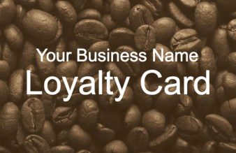 Coffee Bean Loyalty Card
