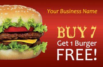 Burger Loyalty Card