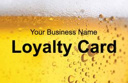 Beer Loyalty Card Template