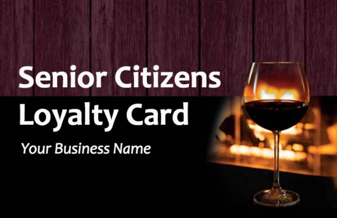 Senior Citizens Loyalty Card