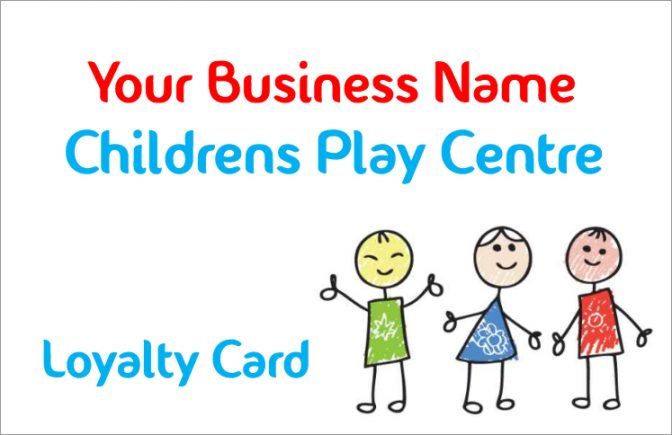 Childrens Play Centre Loyalty Card