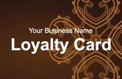 Contemporary Loyalty Card