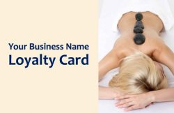 Spa Loyalty Card Temaplate