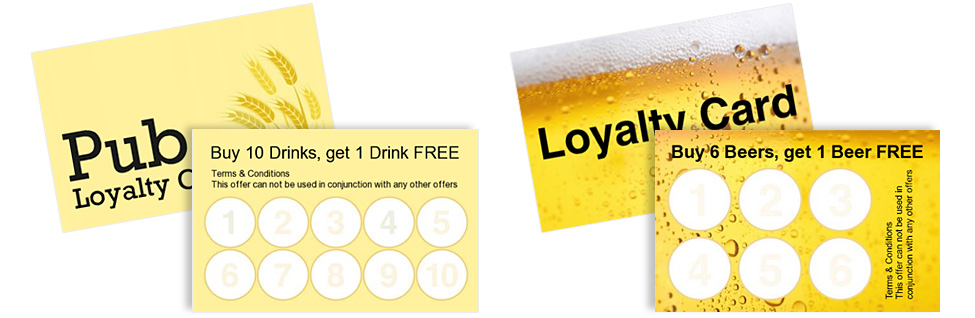 Promote Your Pub Loyalty Cards