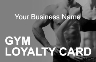 Gym Loyalty Card